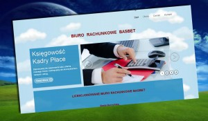 Przykładowe realizacji stron internetowych Basbet Mikołów